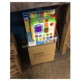 1 LOT (2) V TECH ALPHABET ACTIVITY CUBE