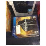 1 LOT PS4 GAMES (DISPLAY)