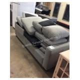 1 LOT FABRIC SOFA SECTIONAL