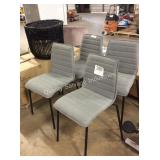 1 LOT 4 CHAIRS