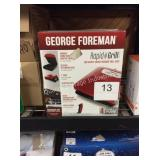 1 LOT GEORGE FOREMAN GRILL