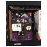 1 LOT 2 MR COFFEE COFFEE MAKERS