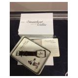 1 LOT 3 STEAMBOAT WILLIE WATCHES (DISPLAY)
