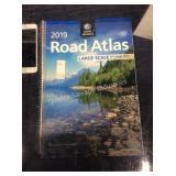 1 LOT 2019 RAND MCNALLY ROAD ATLAS (DISPLAY)