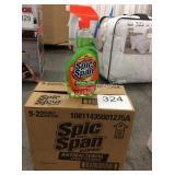 1 CTN SPIC N SPAN ANTIBACTERIAL SPRAY CLEANER