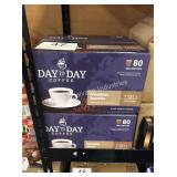 2 CTN DAYTODAY COFFEE PODS EXP 04/22
