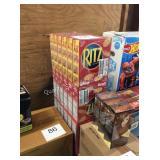 24 CTN RITZ CRACKERS EXP 10/19