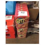 18 CTN RITZ CRACKERS EXP 10/19