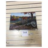 1 LOT WELCOME TO OUR FARM METAL WALL ART