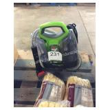 1 LOT BISSELL LITTLE GREEN PRO HEAT CLEANER