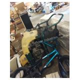 1 LOT COMMERCIAL YARD MACHINE