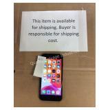 1 LOT IPHONE 7 VERIZON 128GB BLACK (DISPLAY)