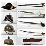 Antique & Military Swords, Bayonets, Knives, Helments-Dave Auringer Collection