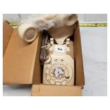 AT&T Remanufactured New Cream Rotary Phone