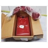 AT&T Remanufactured Red No Dial Wall Phone