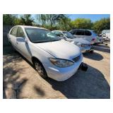 2003 White Toyota Camry LE  (K $55 Start)