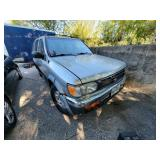 1999 Grey Nissan Pathfinder XE