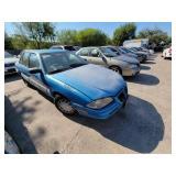 1993 Blue Pontiac Grand Am SE