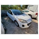 2012 White Mazda Mazda3  (K $85 Start)