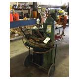 Oxy / Acetylene Welding Cart, Tanks, Hoses, Gauges