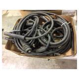 Arc welding leads