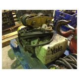 Yale Electric Chain Hoist with Trolley