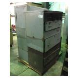 (3) Storage Cabinets