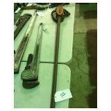 """Ridgid 1""""-8"""" Chain wrench"""
