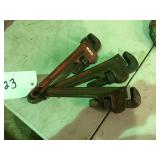 (3) Pipe wrench