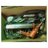 Assorted pneumatic tools, lube gun & misc