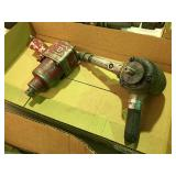 (2) Pneumatic tools, Impact wrench, Grinder