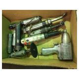 Assorted pneumatic tools