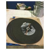 Abrasive cutting blades