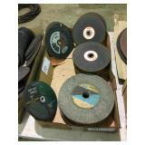 Assorted Grinding cut off wheels & stones