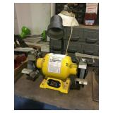 Titan Bench Grinder with lamp