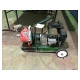 Pace gas powered water pump