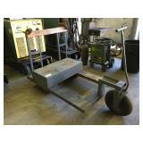 3 wheeled cart designed for welding unit