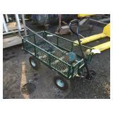 Garden cart & barrel pump
