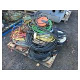 Assorted electrical wire and cords