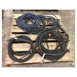 Assorted welding leads