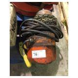 Yale midget king electric hoist 2000 lbs