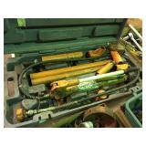 Central Hydraulics 10 ton porta power
