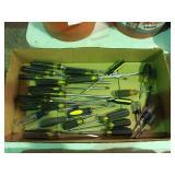 Assorted screwdrivers