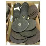 Assorted grinding disks & cutoff wheels