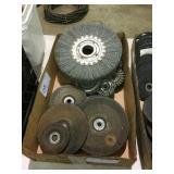 assorted cutting wheels & wire wheels