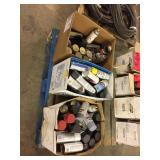 (3) Boxes assorted spray paint