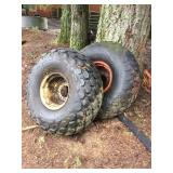 TRACTOR RIMS W/ TIRES