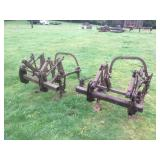 (2) TOOL BARS W/ CULTIVATOR