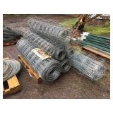 ASSORTED LENGTH FIELD FENCING