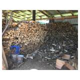 5+ CORD OF FIREWOOD, MIXED LOAD OF MAPLE & FIR